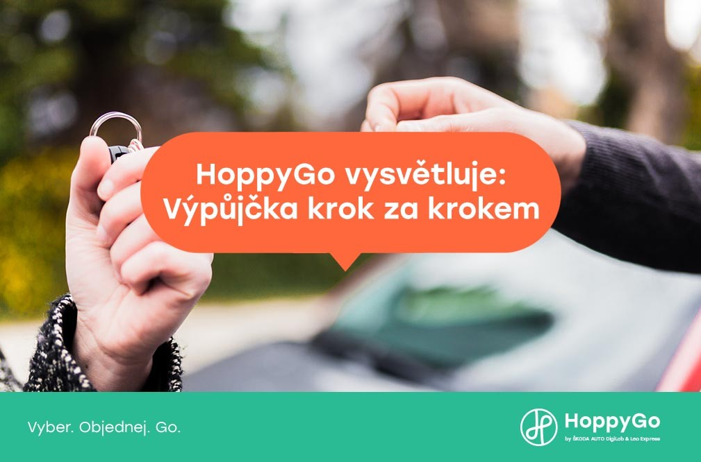 HoppyGo vysvětluje: Výpůjčka krok za krokem