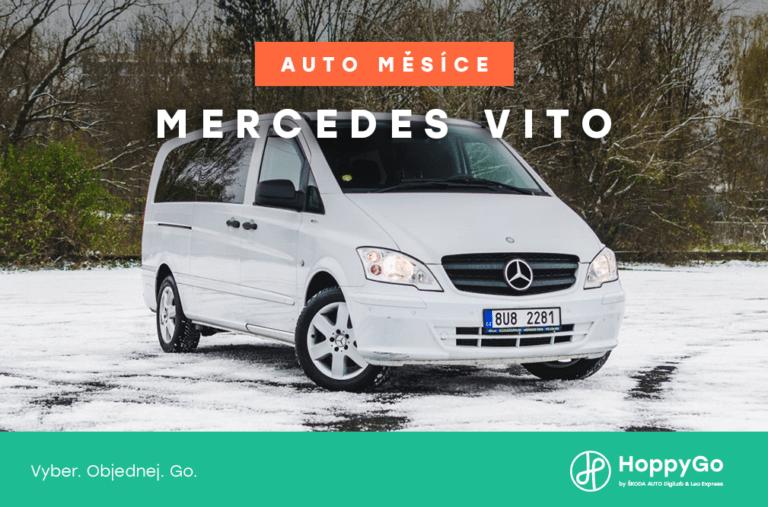 Auto měsíce ledna - Mercedes  Vito