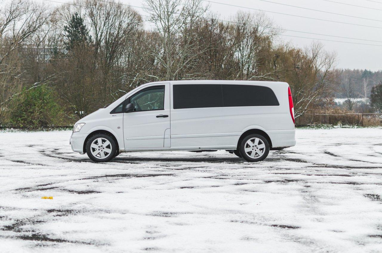 Auto měsíce ledna: Mercedes Vito za  1590 Kč/den!