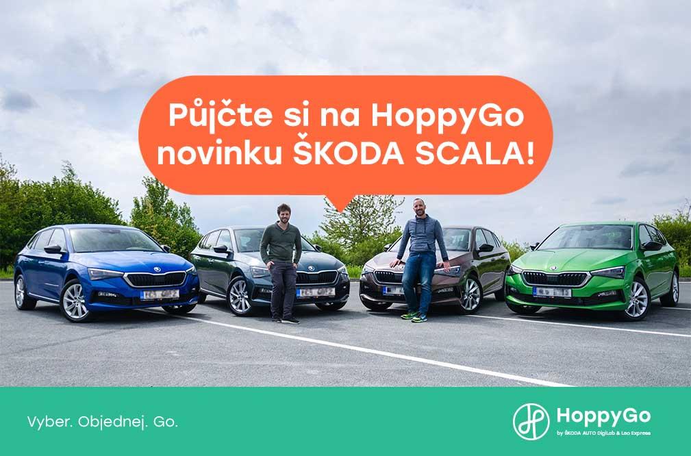 ŠKODA SCALA na HoppyGo
