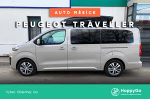 Auto měsíce července: Peugeot Traveller