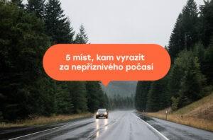 Co dělat v dešti