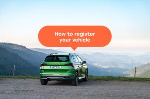 How to register you vehicle