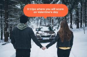 Výlety na Valentýna