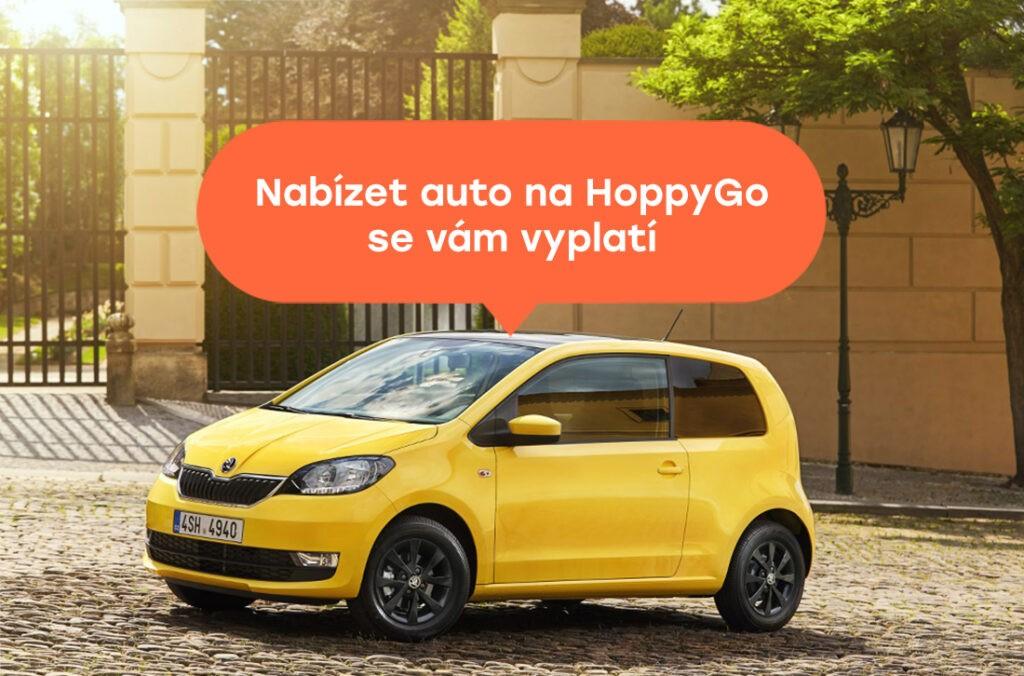 Pronajímání vozu na HoppyGo