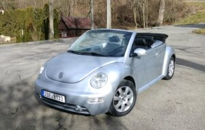 Pronájem kabrioletu VW Beetle