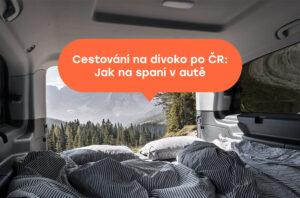 Spaní v pronajatém autě