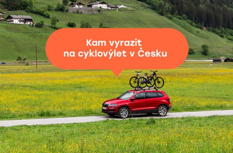 Půjčení auta na cyklovýlet v Česku