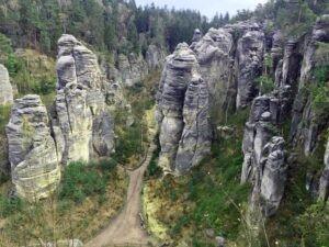Pronájem auta na dovolenou v Českém ráji