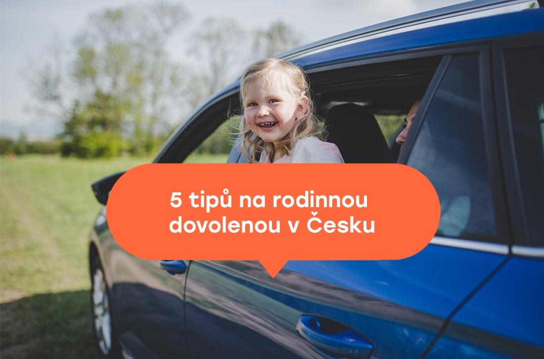 Pronájme automobilu na rodinnou dovolenou