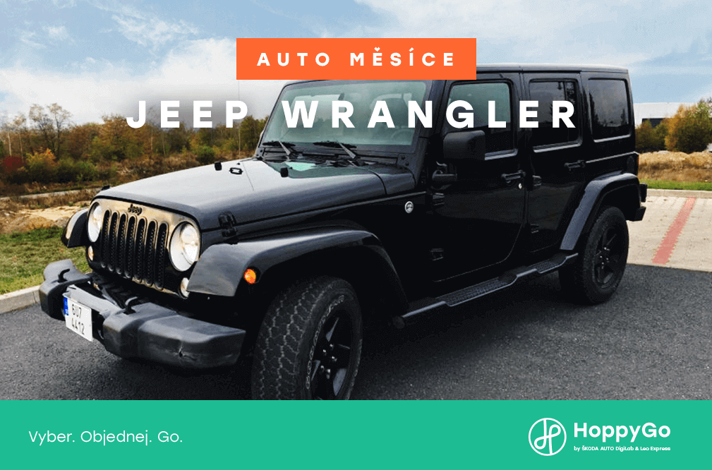 Auto měsíce prosince: Jeep Wrangler