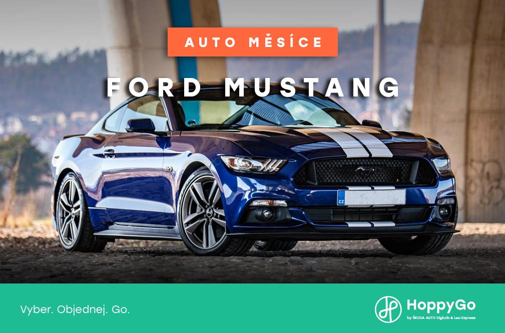 Auto měsíce května: Ford Mustang