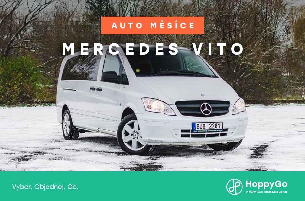 Auto měsíce ledna: Mercedes Vito pro 8 lyžařů