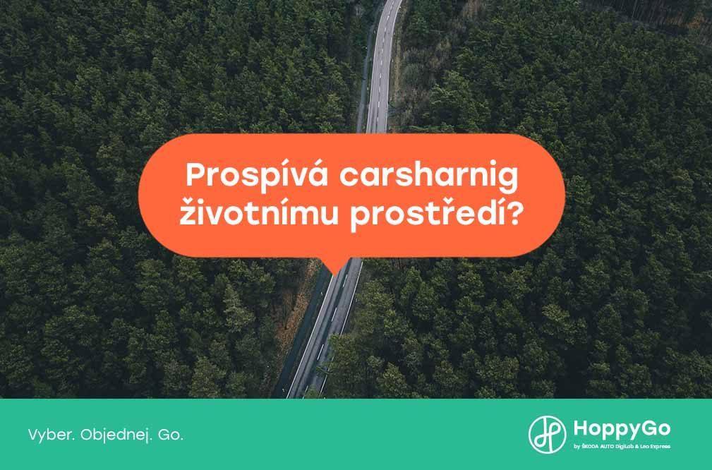 Jak carsharing prospívá životnímu prostředí