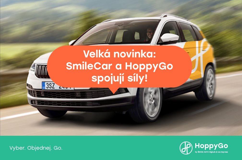 HoppyGo a SmileCar spojují síly!