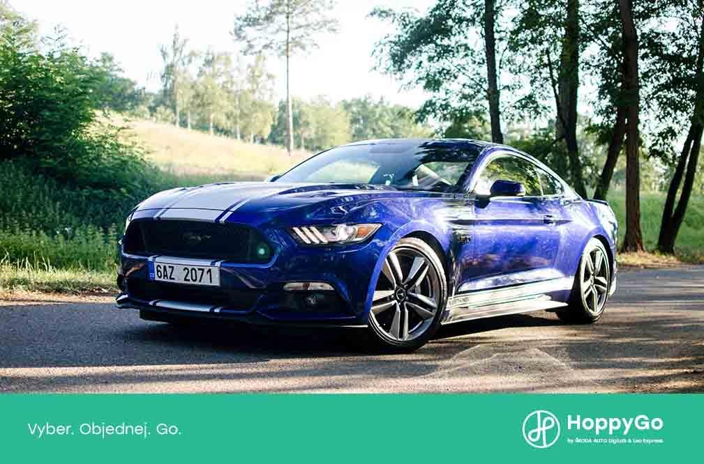 Auto měsíce srpna: Mustang