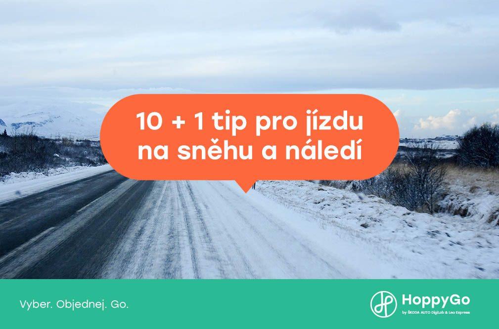 10+1 tip pro jízdu na sněhu a náledíí