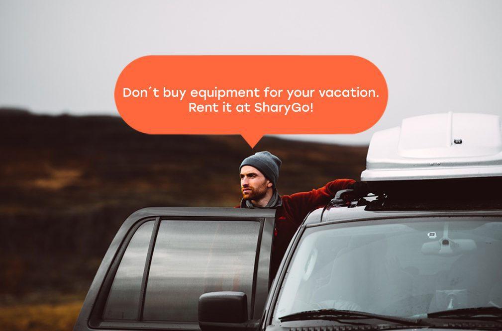 Rent accessories on HoppyGo