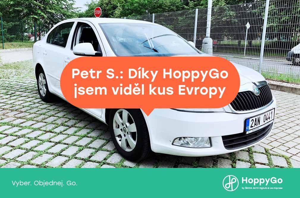 Petr S.: Díky HoppyGo jsem viděl kus Evropy