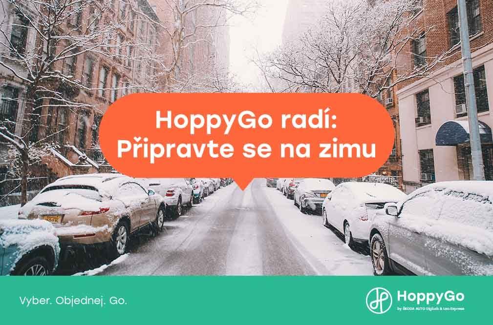 HoppyGo radí: Připravte se na zimu